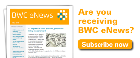 Subscribe to BWC eNews